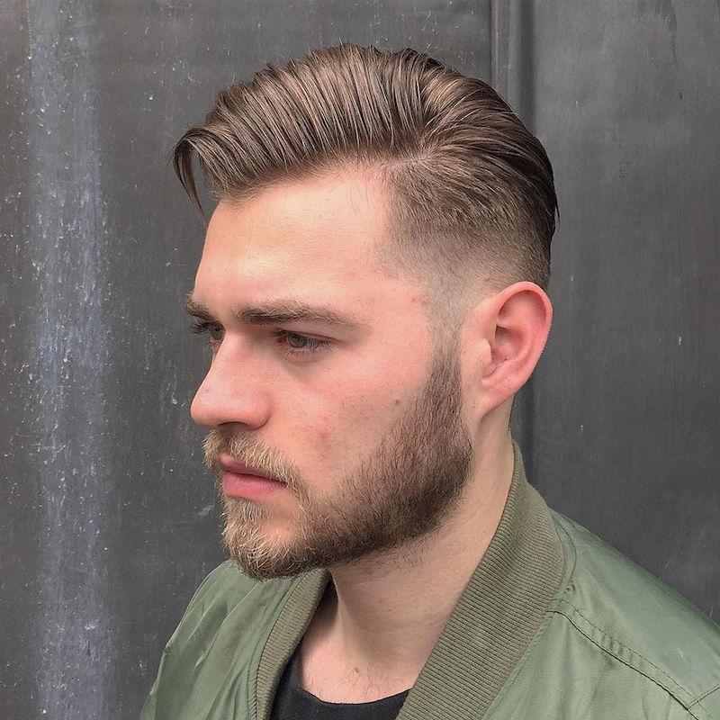 Прически и стрижки мужские средние волосы